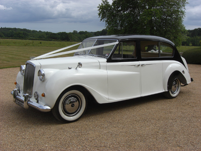 Austin Princess 7 Seat Limousine Prepared For A Wedding