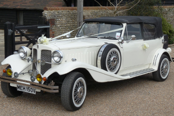 Beauford Tourer - Wedding Car