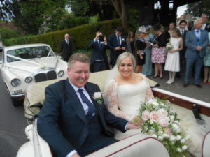 Two Wedding Cars
