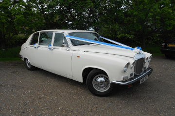 Daimler 7 Seat Limousine - Wedding Car Hire