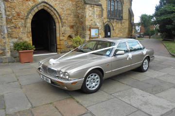 Jaguar Sovereign - Wedding Car Hire