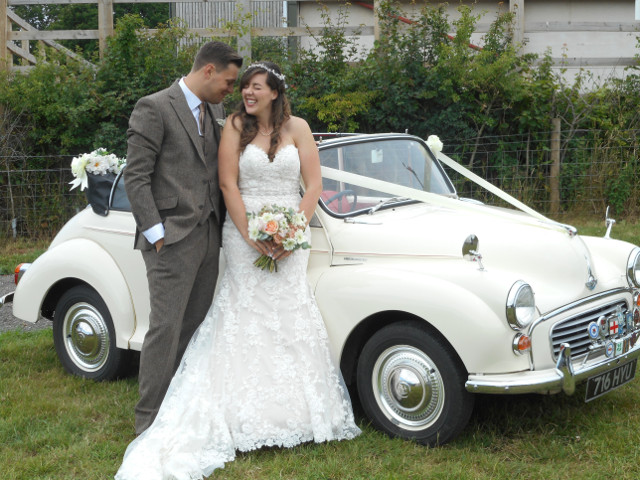 Morris Minor Convertible Wedding Car Hire
