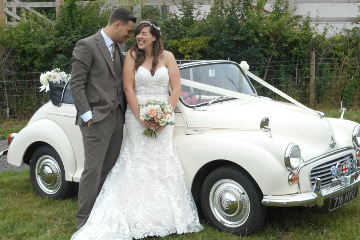 Morris Minor Convertible - Wedding Car Hire