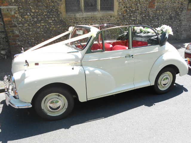 Hire A Morris Minor Covertible
