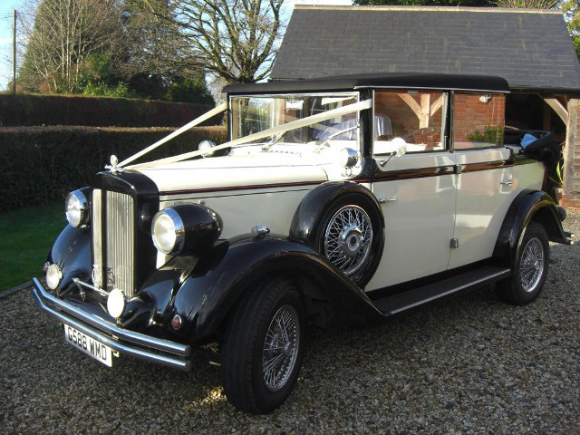 Brenchley Regent Wedding Car