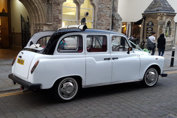 White London Taxi - Wedding Car Hire