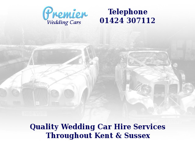 premier wedding cars logo