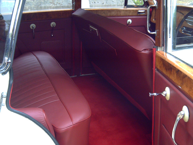 Armstrong Siddeley Sapphire Saloon Interior - Rear