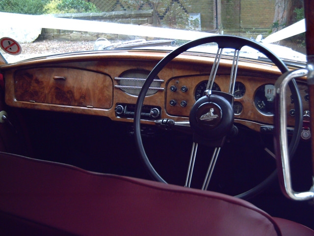Armstrong Siddeley Sapphire Interior Front