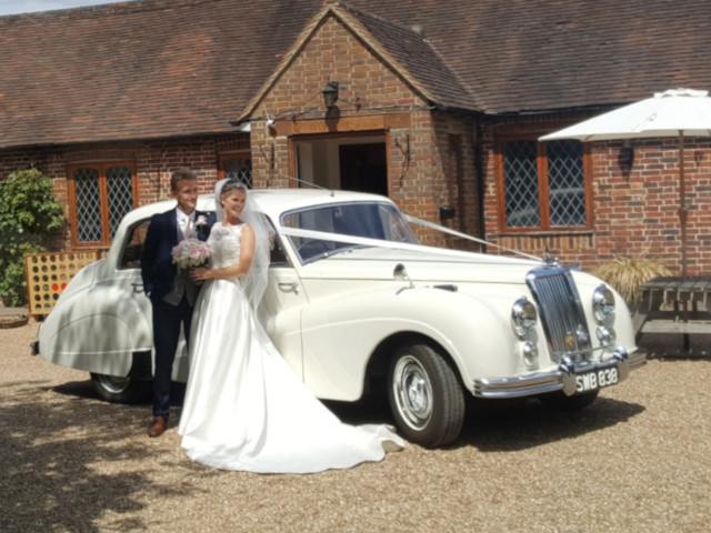 Armstrong Siddeley Sapphire Wedding Photo